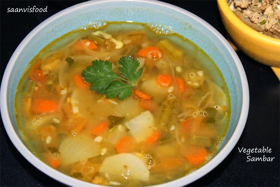 Vegetable Sambar