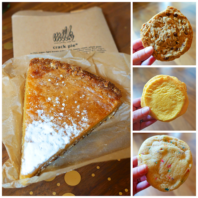 Milk Bar Crack Pie and Cookies - NYC