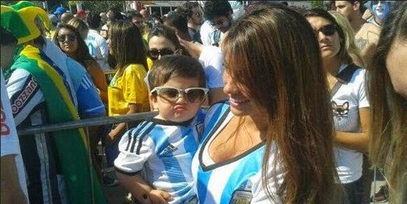 Dukungan Siimut Thiago Bikin Messi Bintang Argentina Semakin Cemerlang