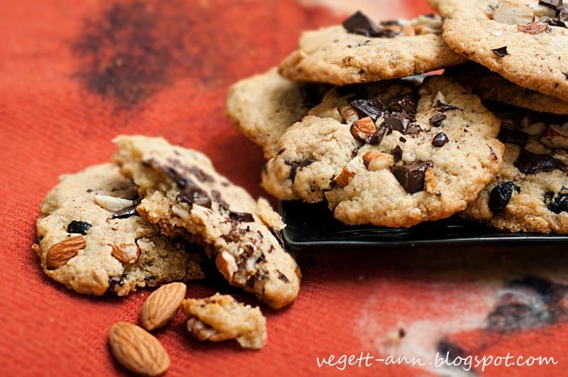 Рецепт печенья с орехами