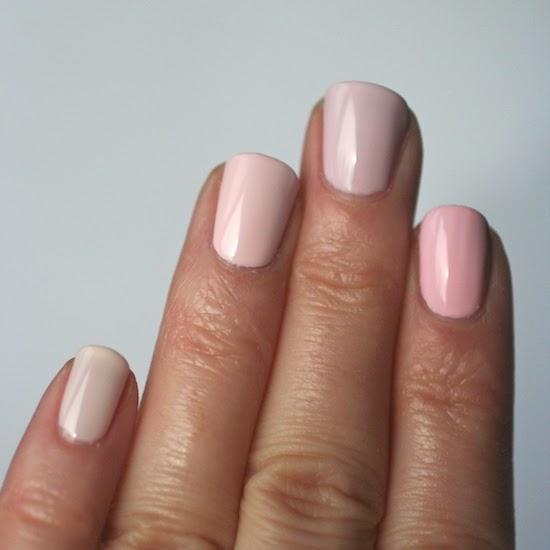 Essie Pale Pink Comparison : Ballet Slippers, Minimalistic, Romper ...