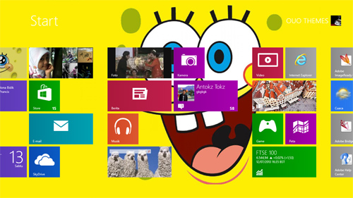 SpongeBob SquarePants Theme For Windows 7 And 8
