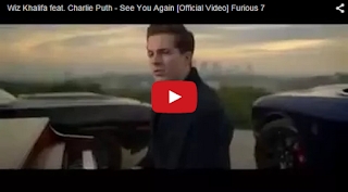 """Soundtrack Film Furious 7 """"See You Again"""""""