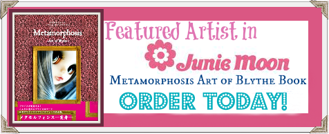 Metamorphosis~Art of Blythe Book Published 2013