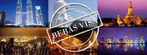 Negara Bebas Visa Bagi WNI