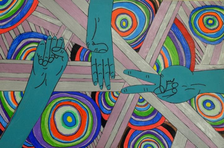 Language Movement Drawing Balance And Movement