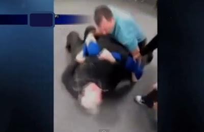 alumno de colegio ataca a roger francis subdirector de la escuela