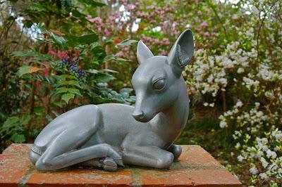 Sculpture: Fawn    Sculptor: Albert Stewart