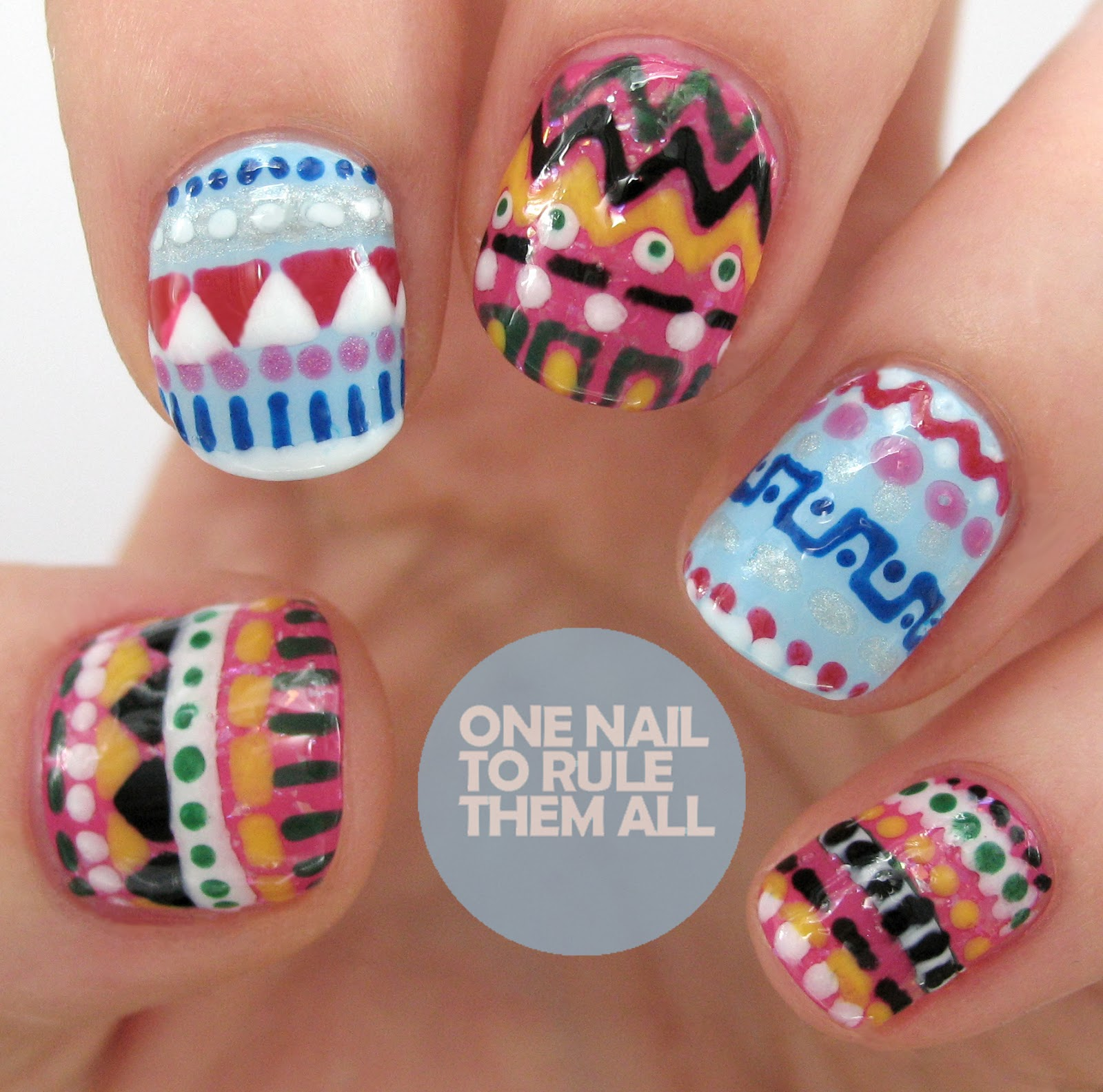 one nail to rule them all rio original nail art pens review. Black Bedroom Furniture Sets. Home Design Ideas
