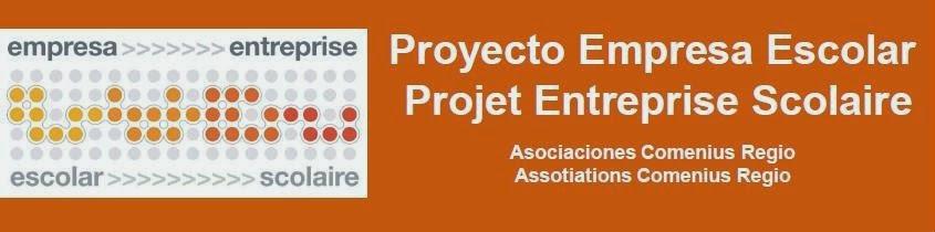 Projecto Empresa Escolar - Projet Entreprise Scolaire