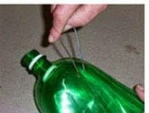 DIY: Escoba con botella Paso 11