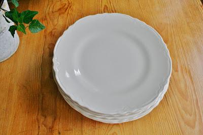 White Ironstone Dishes & Ironstone and Pine: White Ironstone Dishes