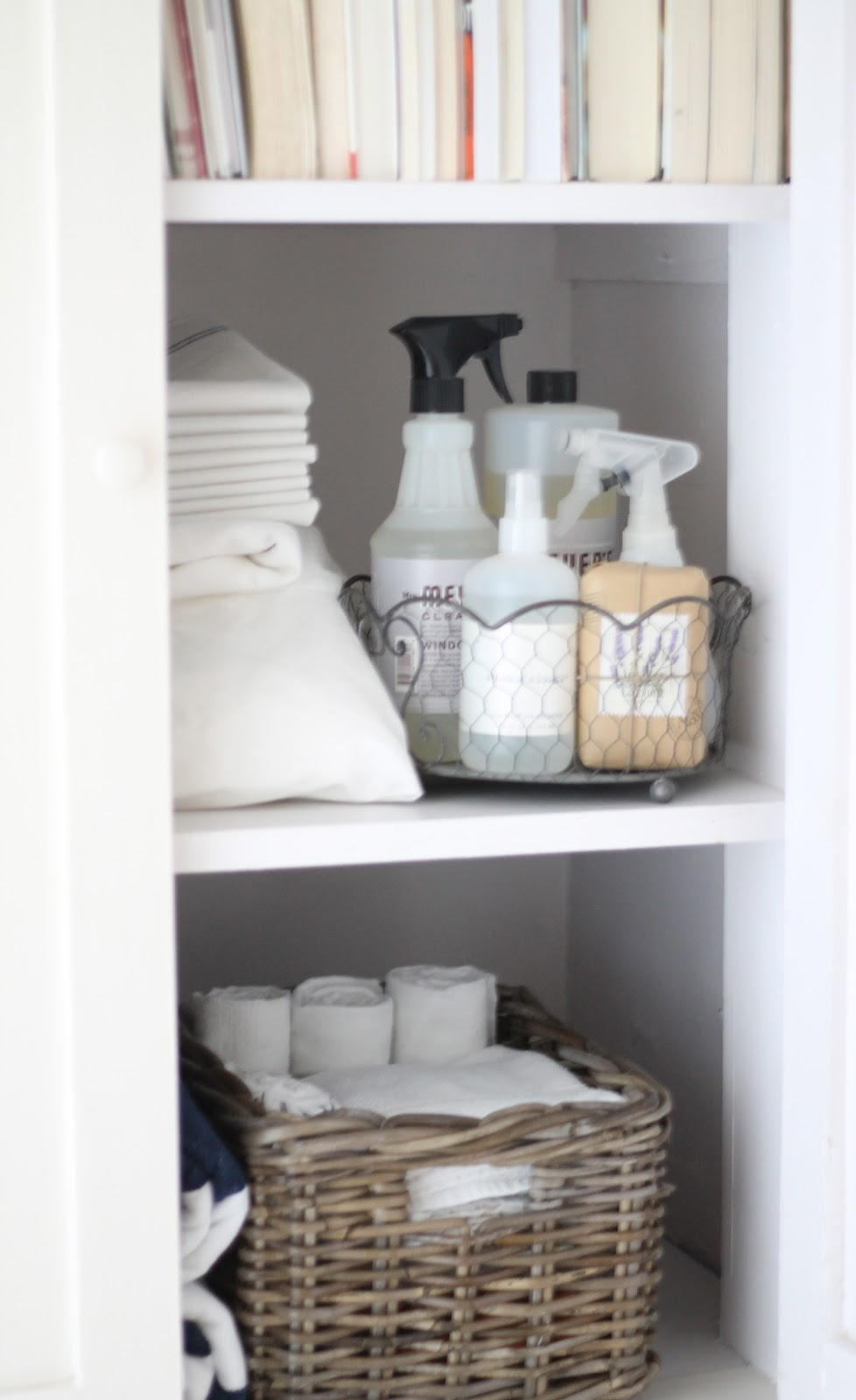 12th And White The Linen Closet Small Space Storage