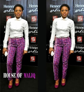 Are You Feeling Chidinma 's Outfit to Henessy Artistry Grand Finale.