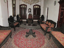 "Sultan's Palace Sitting Room, ""Palace by The Sea,"" Zanzibar"