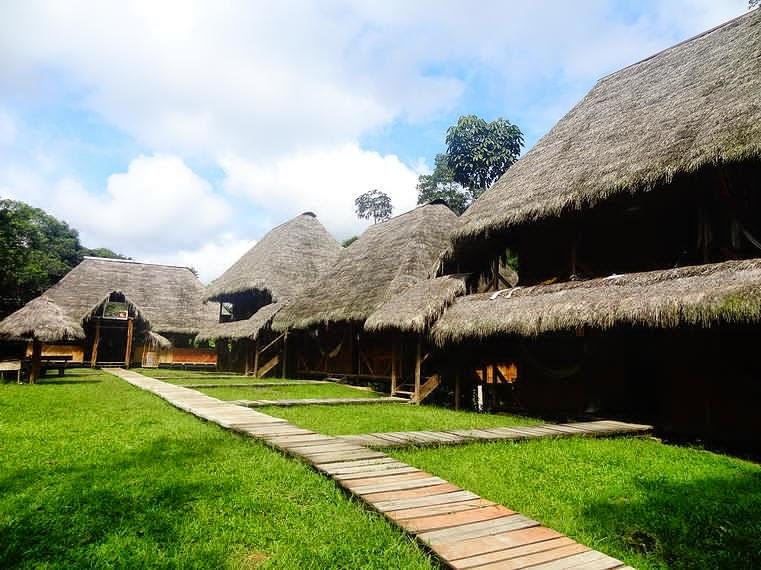 Hosterías en el oriente ecuatoriano - Caiman Lodge