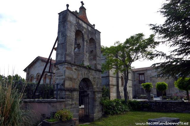 Exterior monasterio Sta Marta de Tera