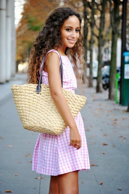 Bolsa Dourada Como Usar : Virtuosas com estilo como usar bolsa de palha na cidade