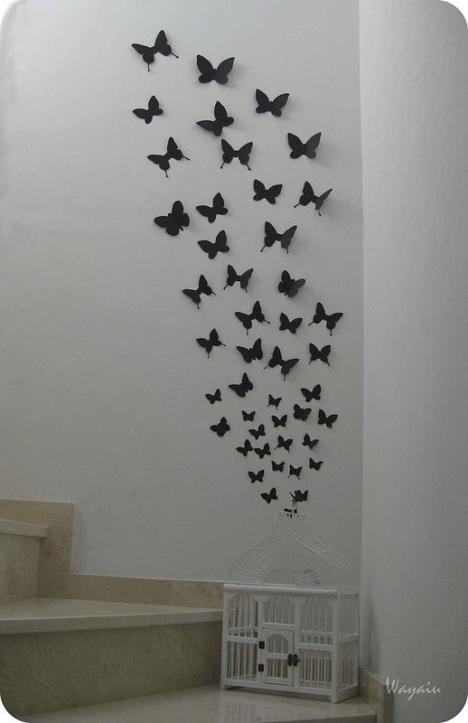 Mi pared favorita 39 12 mariposas de papel de gemma Plantillas decorativas ikea