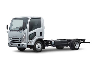 Isuzu Elf Hybrid Ready Showcase and a variety of Advanced Truck