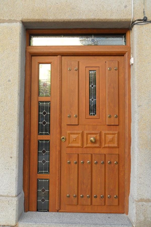 Carpiter a de aluminio pablo rodr guez puertas - Puertas de exterior de aluminio ...
