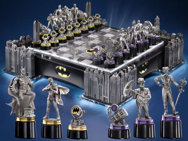 Hereu0027s A Nice Theme Set Post Sent To Us By Reader Elvina Schenko Of Berlin.  This Batman Chess Set Priced At $795.00 Comes ...