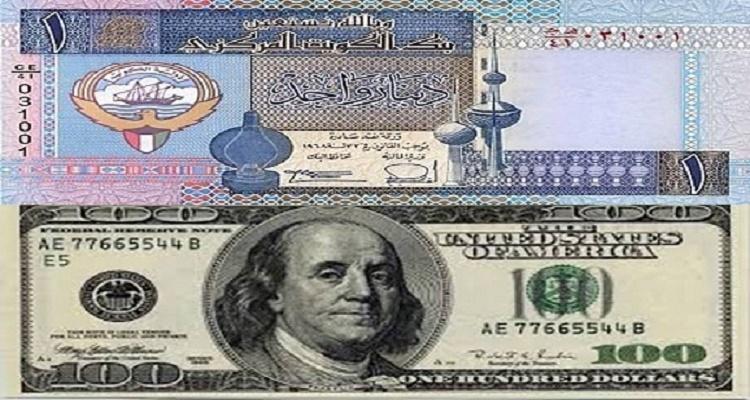 سعر الدولار في الكويت اليوم الخميس 21-1-2016