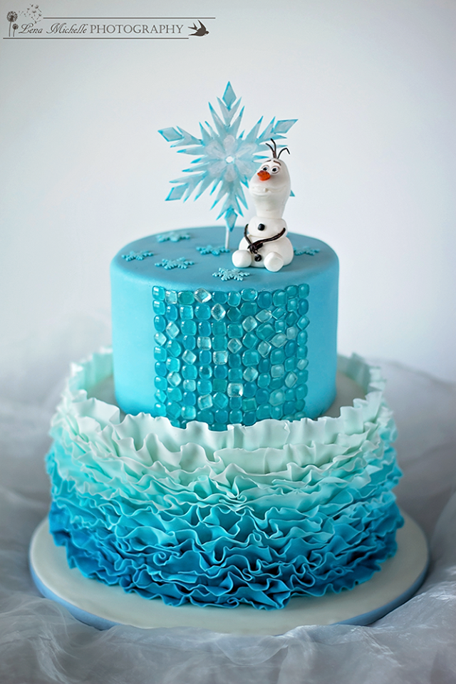 how to make elsa out of fondant