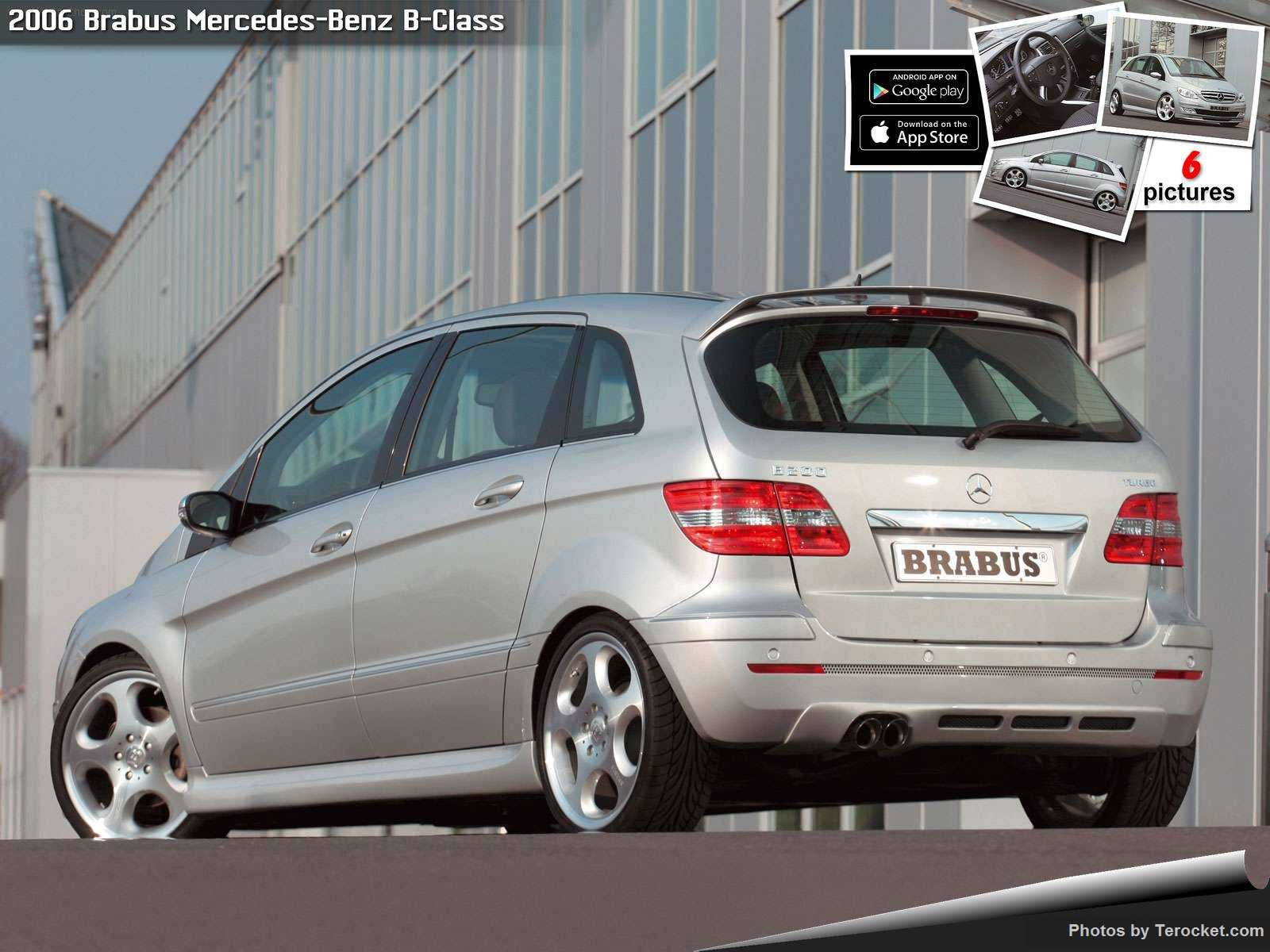 Hình ảnh xe ô tô Brabus Mercedes-Benz B-Class 2006 & nội ngoại thất