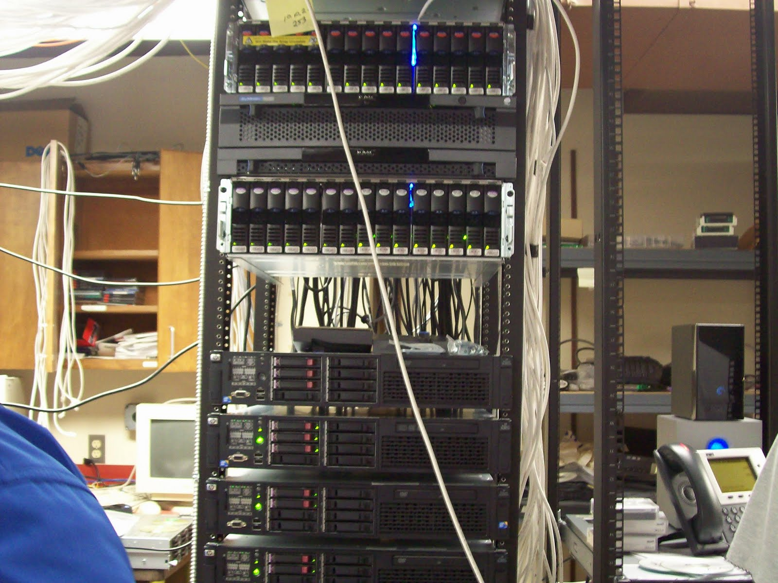 Net 125 Blog This Is My First Network Tour Wiring Closet Cooling W West Floor Cabling