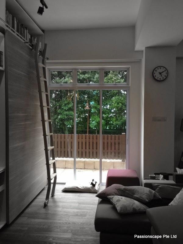 Extended Living Room Garden