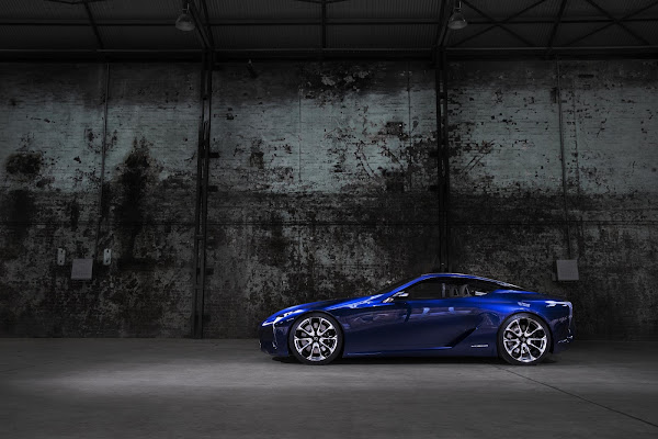 Lexus LF-LC Blue - Wallpaper