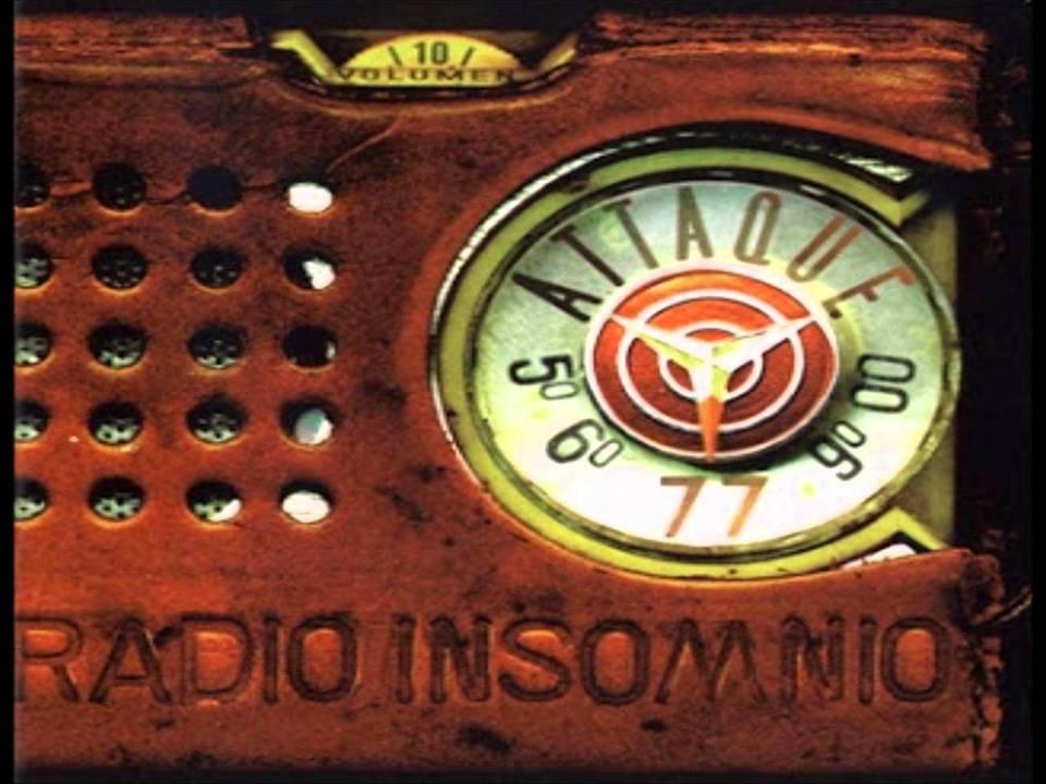 Radio Insomnio Álbum De Attaque 77