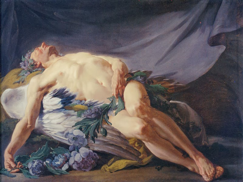 Morpheus, or Sleep Jean-Bernard Restout,  1771 The Cleveland Museum of Art, USA