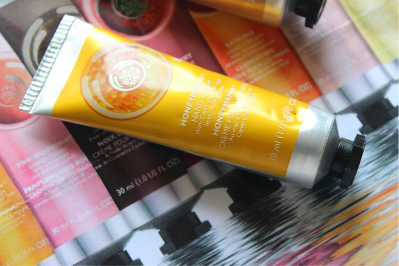 The Body Shop New Hand Cream Collection