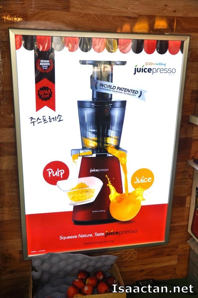 Squeeze Nature, Taste Juicepresso
