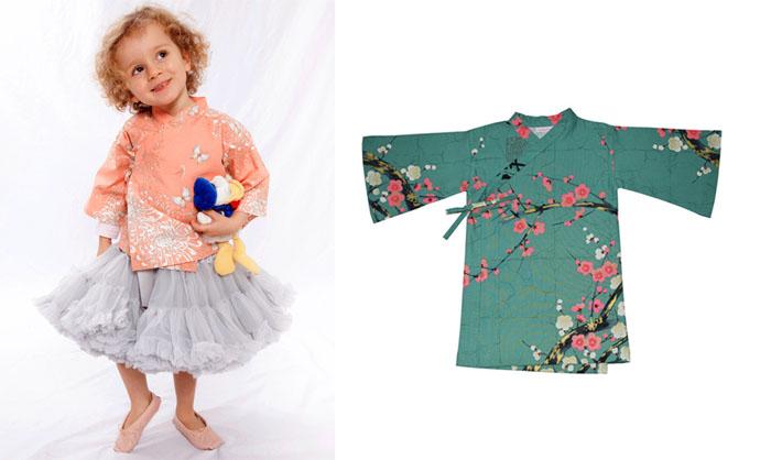Monkimono kimonos para niños