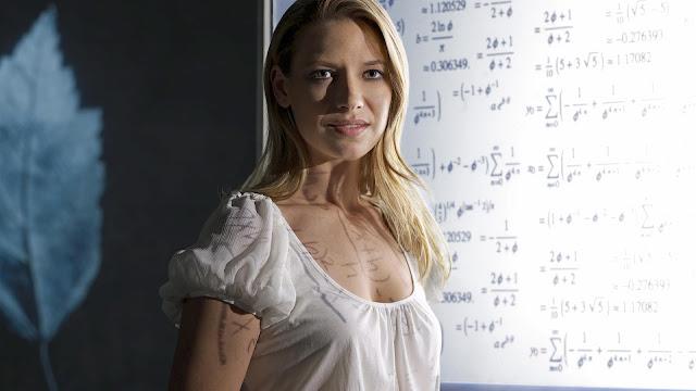 Anna Torv in White Wallpaper