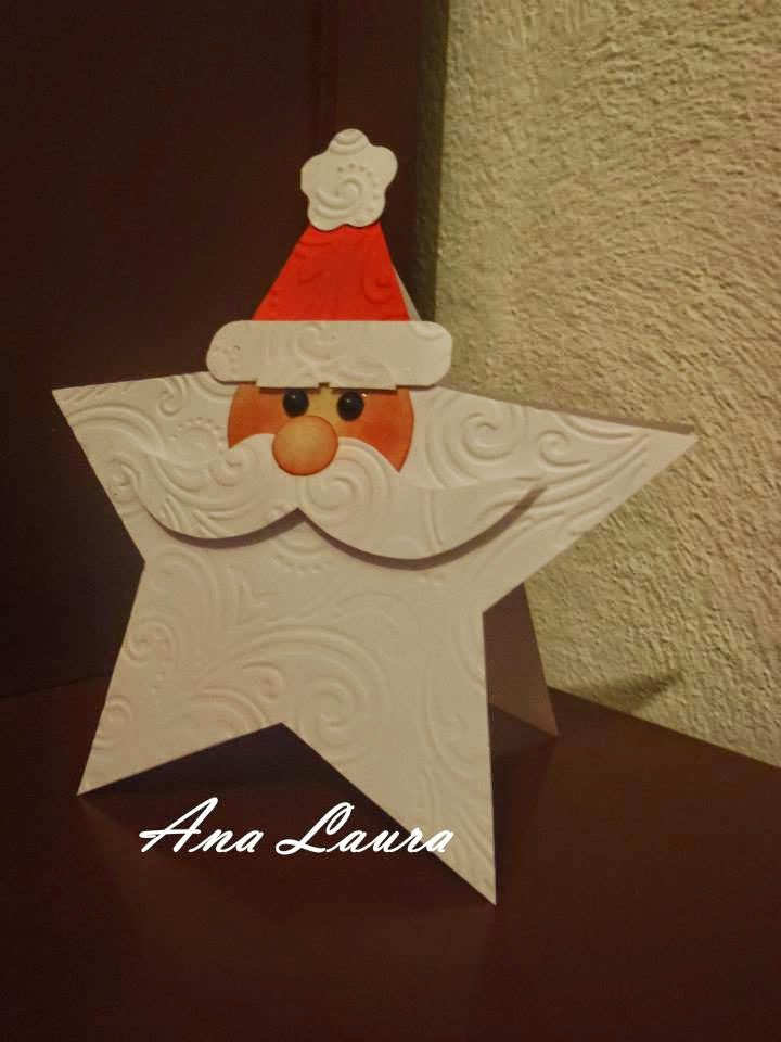 Ana laura tarjetas sencillas para navidad - Como hacer targetas de navidad ...