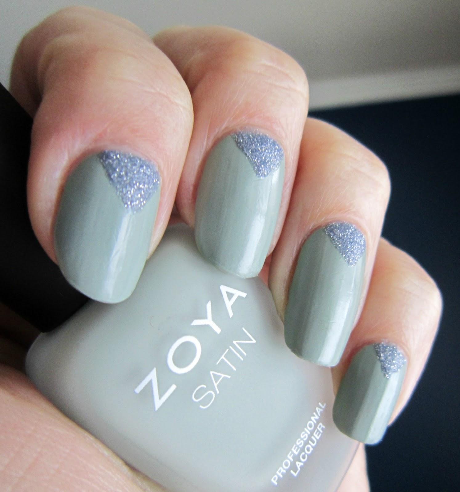 Concrete and Nail Polish: Pixie Dust