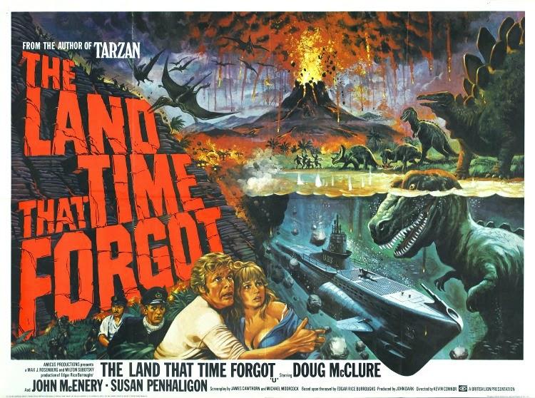 A Vintage Nerd, Vintage Blog, Old Hollywood Blog, Classic Film Blog, The Land That Time Forgot