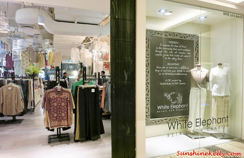 White Elephant, Retail for Charity, Publika, British India, White Elephant by British India