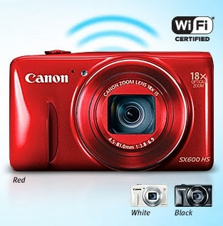 New digital camera, Canon PowerShot SX600 HS, compact system camera, digital camera, Full HD video, superzoom camera, Wi-Fi camera, NFC, new canon camera, creative filter,