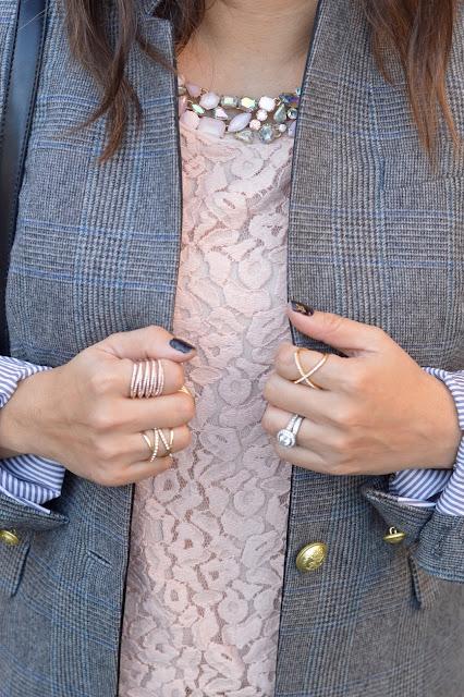 BaubleBar Ice Twister Ring, Mason Pave Ring