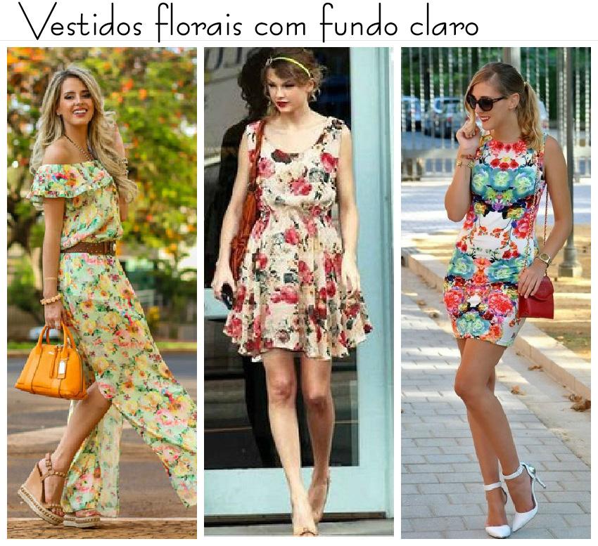 Vestido floral curto c&a