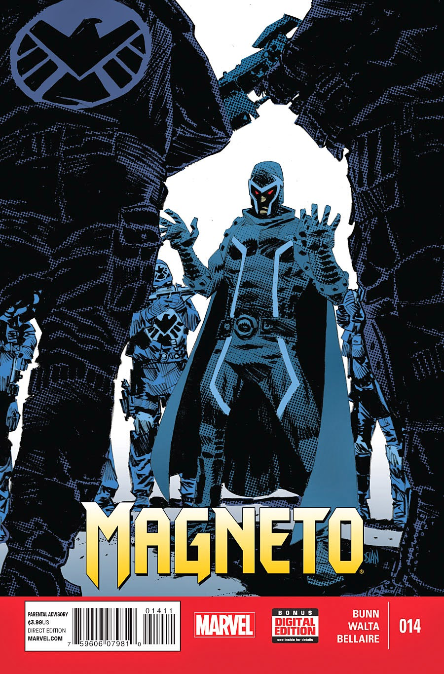 Magneto and S.H.I.E.L.D face off