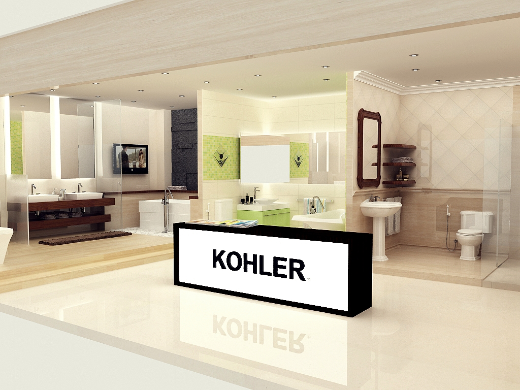 Black Paper Writer: KOHLER Showroom Pekanbaru (Mock UP)