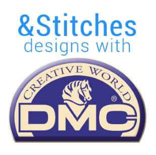 &Stitches Zine designs with DMC