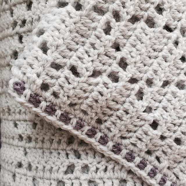 vivre au crochet harlequin couverture pour b b. Black Bedroom Furniture Sets. Home Design Ideas