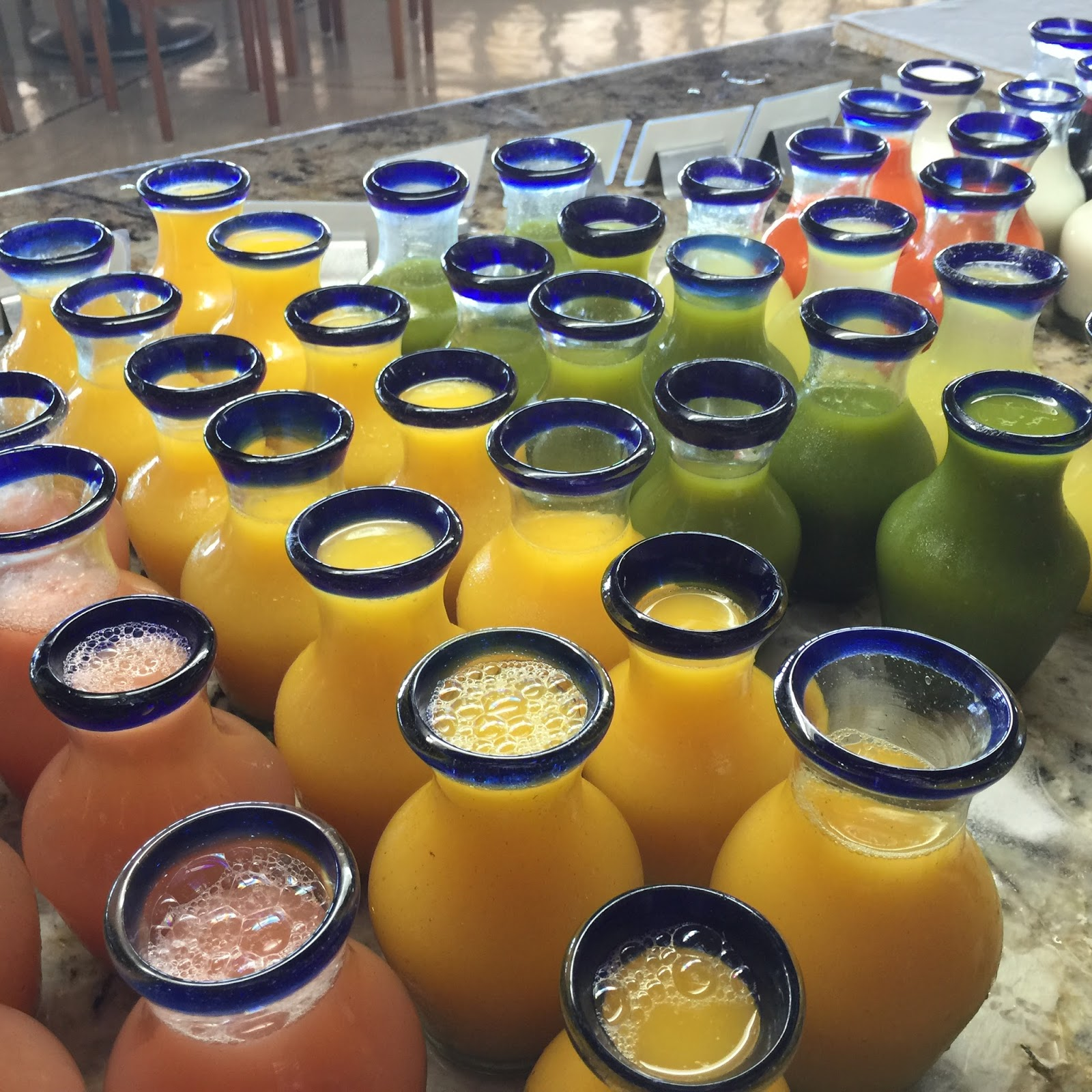 The Gorgeous Juices In Mexico! I Reached For The